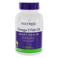 Natrol Omega-3 Fish Oil Heart Health 1000 mg 90 softgels