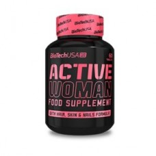 BioTechUSA Active Woman 60 tabs
