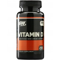 Optimum Nutrition Vitamin D 200 caps