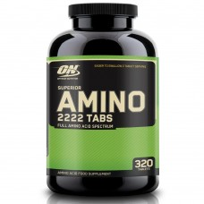 Optimum Nutrition Superior Amino 2222 320 tabs