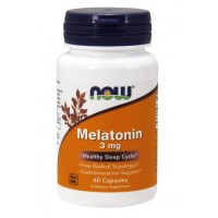 NOW Foods Melatonin 3 mg 60 cap