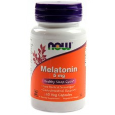 NOW Foods Melatonin 5 mg 60 cap