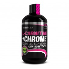 BioTechUSA L-carnitine + Chrome 500 ml