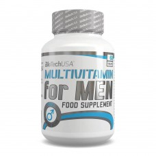 BioTechUSA Multivitamin for men 60 tabs